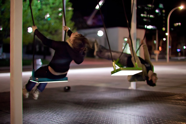 Musical Light Swings